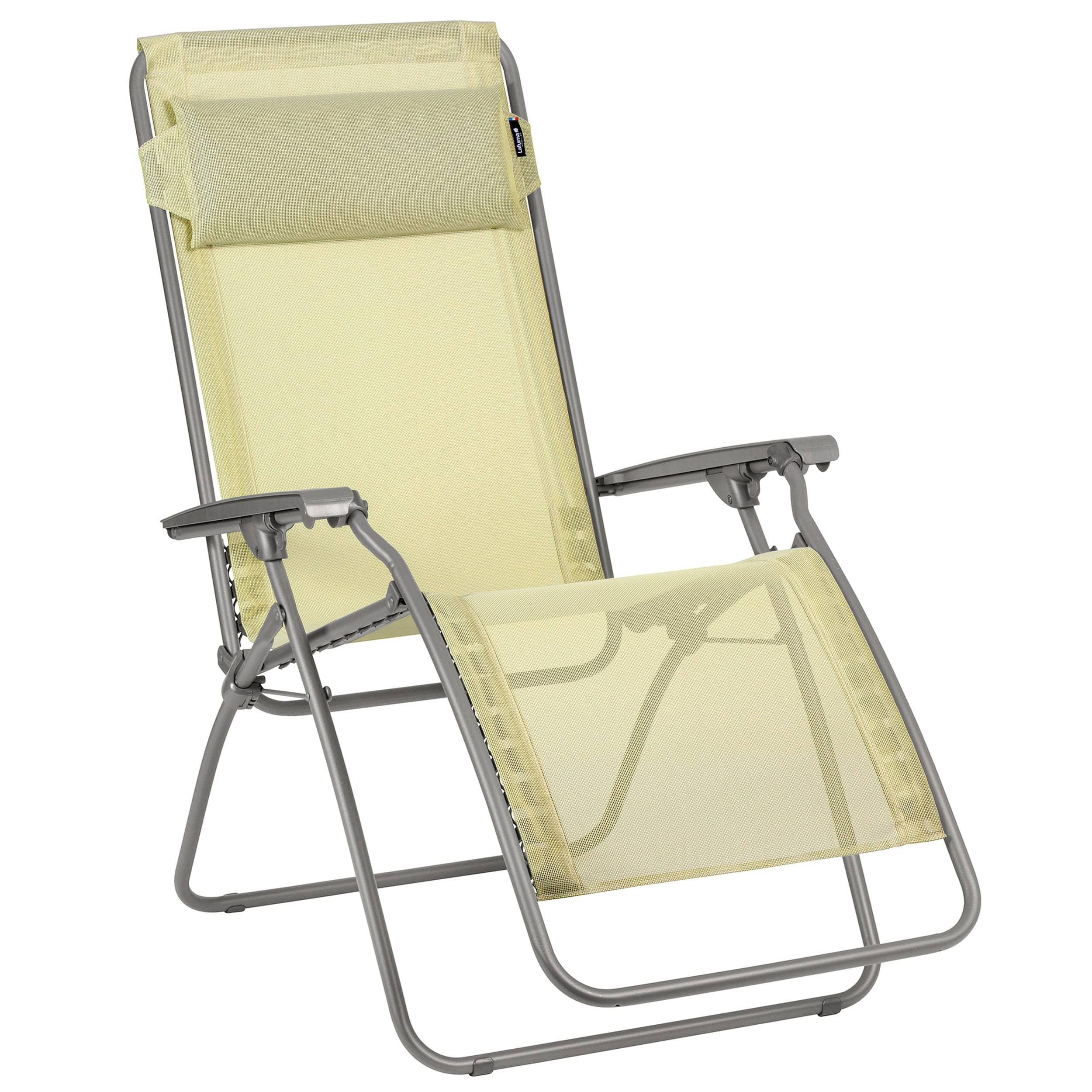 fauteuil de relaxation r clip batyline iso citrus | Lafuma